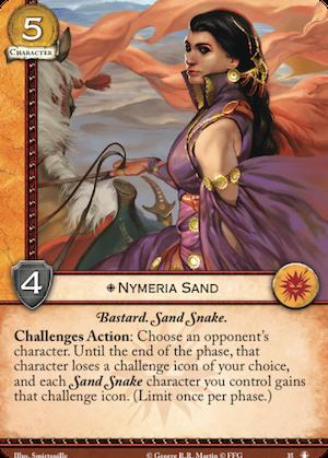 Arya + Confinement / Nymeria Sand Nymeria-sand
