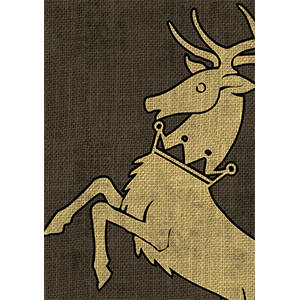 Game of Thrones Card Sleeves - House Baratheon