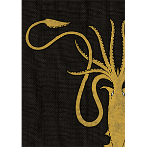 Game of Thrones Card Sleeves - House Greyjoy
