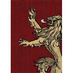 Game of Thrones Card Sleeves - House Lannister