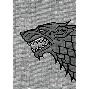 Game Of Thrones Card Sleeves   House Stark