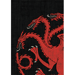 Game Of Thrones Card Sleeves   House Targaryen