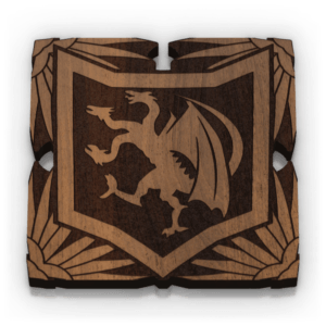 Dragon Banner Token (15)