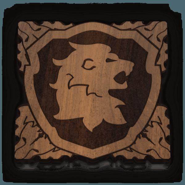 Lion Banner Token (15)