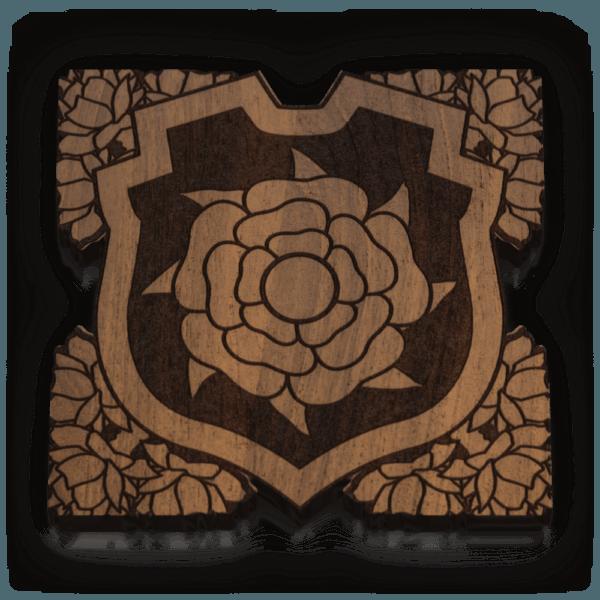 Rose Banner Token (15)