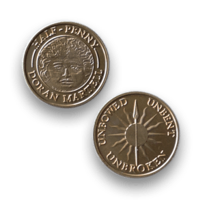Doran Martell - Official Game of Thrones Half-Penny Coin