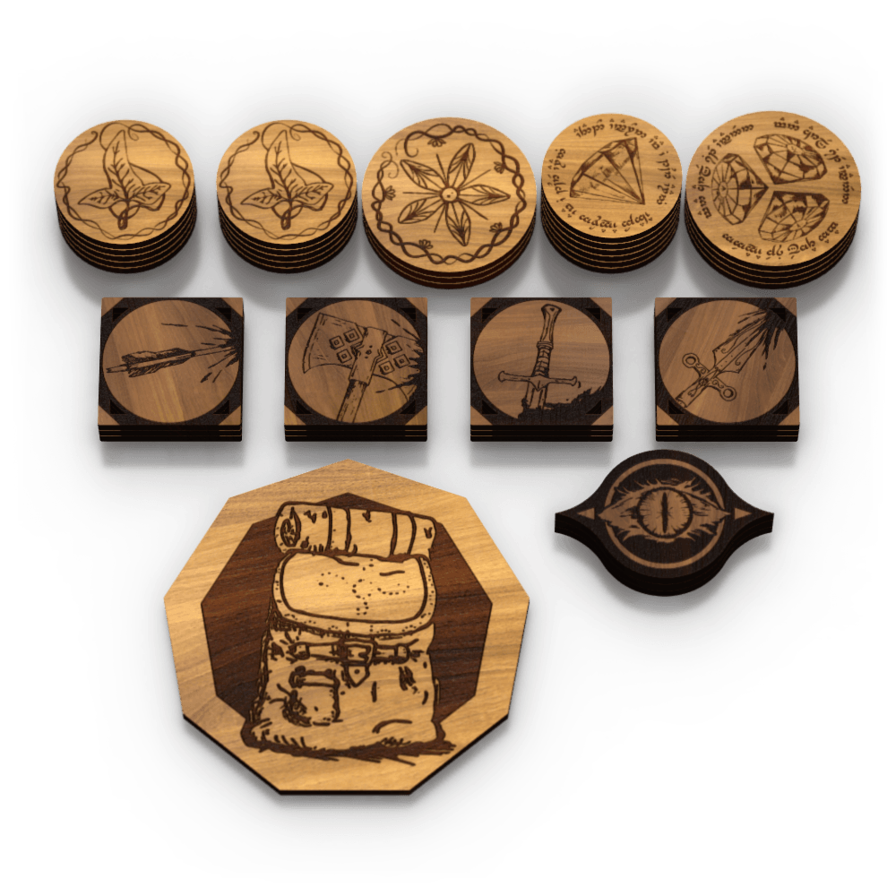 Lord Of The Rings Lcg Resource Tokens