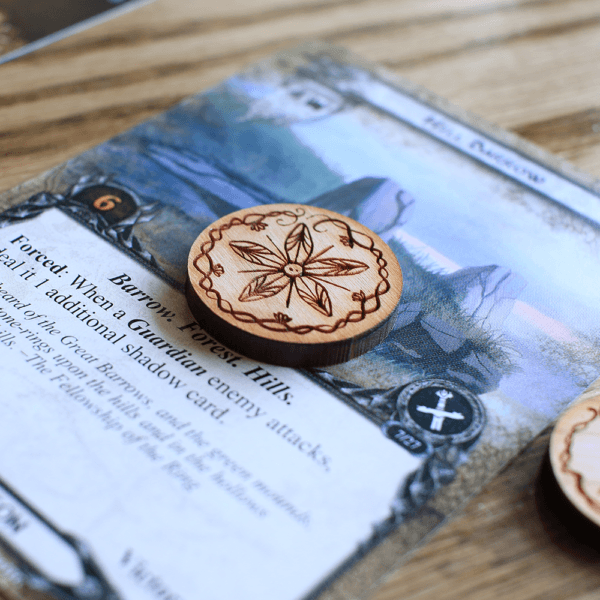 5 Quest On Card - Adventure Tokens