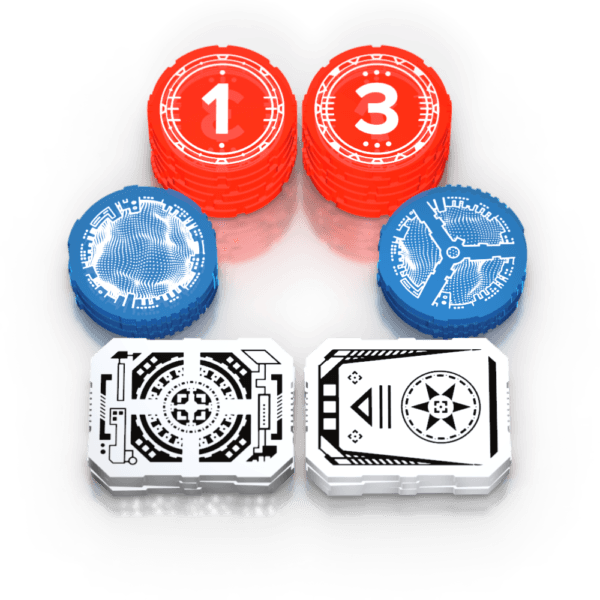Saga Tokens - Star Wars: Destiny