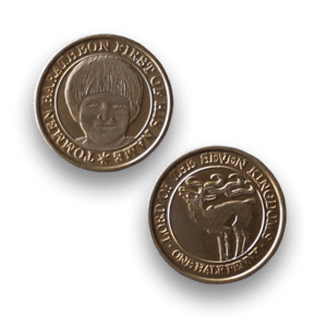 Tommen Baratheon - Official Game of Thrones Half-Penny Coin