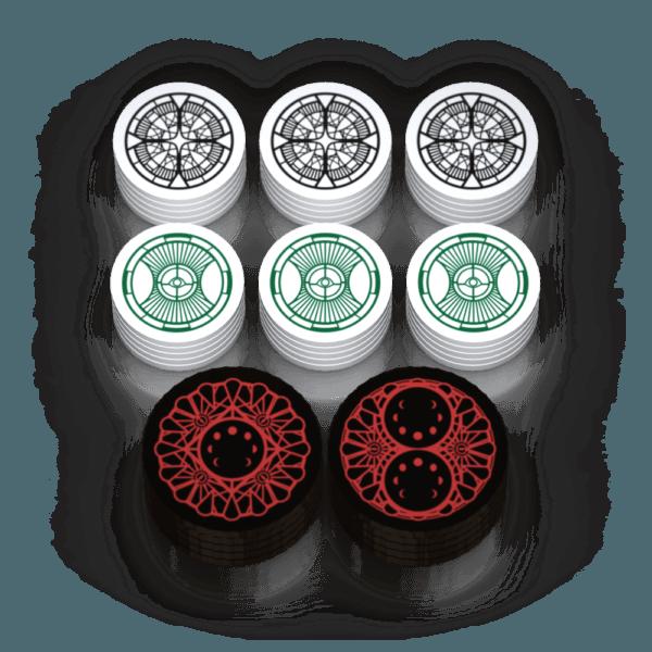 Arkham Horror Mythos Tokens - Campaign Set