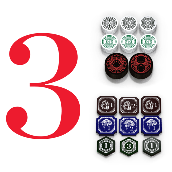 Mythos Token - Three Player Bundle