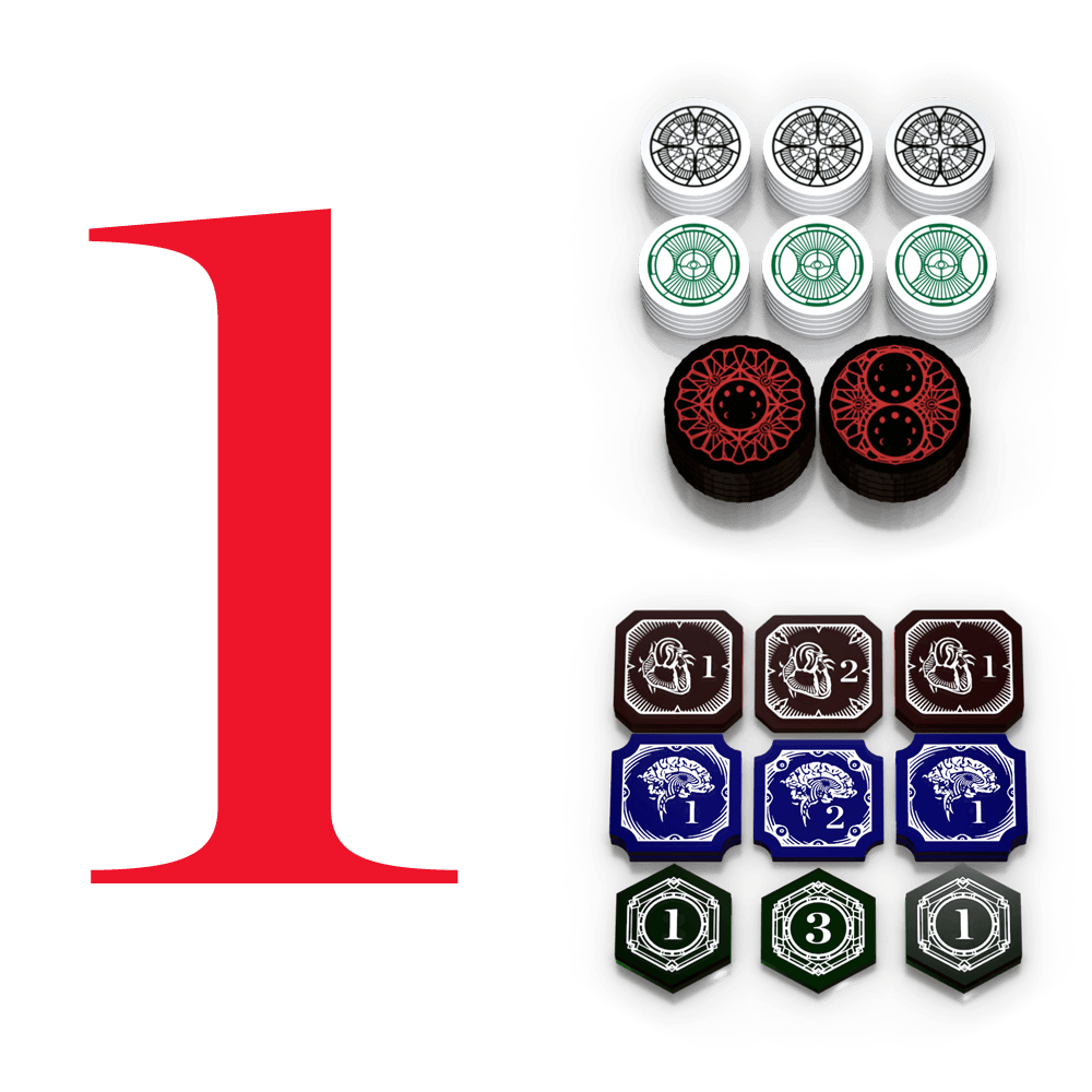 Ledgend Of The Five Rings Tokens