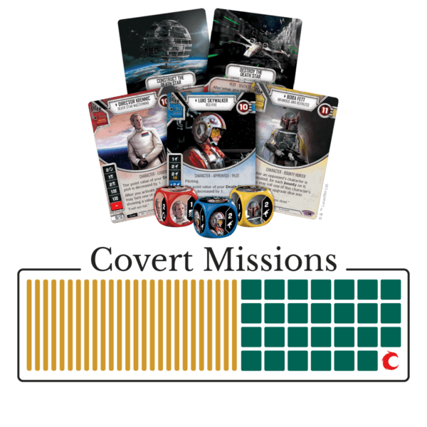 Covert Missions Set 9 Saga Set | Star Wars: Destiny