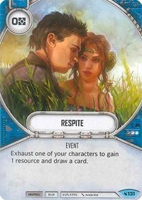 When drafting Legacies with four characters, don't underestimate Respite.