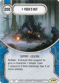 Yoda's Hut is another great card for drafting Legacies.