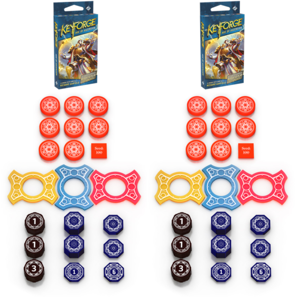 Two Player Starter Archon Tokens | Keyforge Compatible - Covenant