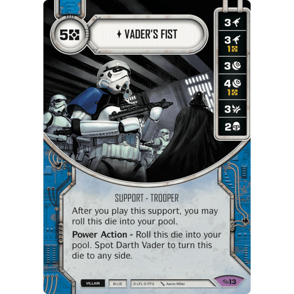 Common Singles Star Wars Destiny PACKS OF 2 Empire At War