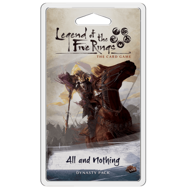 All And Nothing Dynasty Pack | The Legend Of The Five Rings LCG