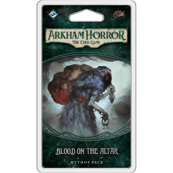 Blood On The Altar Mythos Pack | Arkham Horror LCG