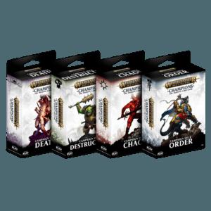 Campaign Starter Decks | Warhammer Champions