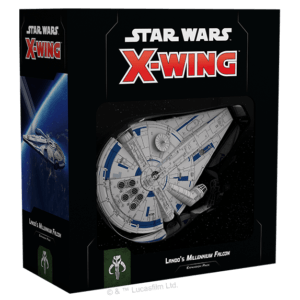 Lando's Millenium Falcon Expansion Pack | Star Wars X-Wing