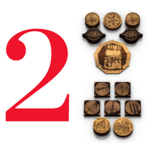 Two Player Bundle | Adventure Tokens