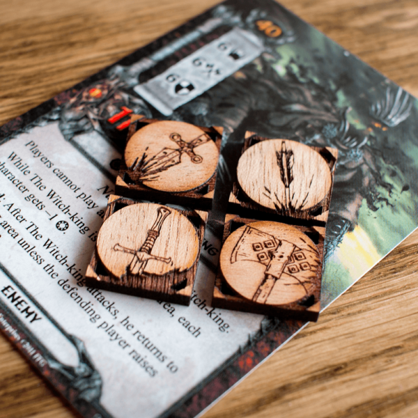 Damage Tokens | Adventure Tokens