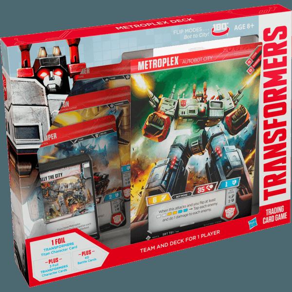 Transformers TCG Metroplex Starter Set