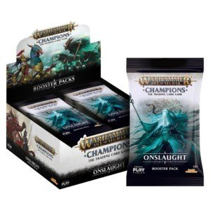 Onslaught Booster Box | Warhammer Champions