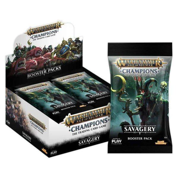 Savagery Booster Box | Warhammer Champions