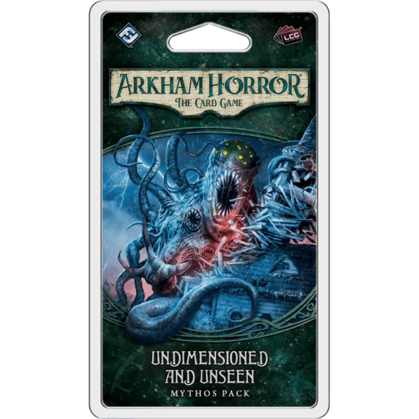 Undimensioned And Unseen Mythos Pack | Arkham Horror LCG