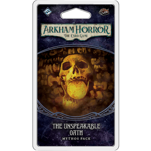 The Unspeakable Oath Mythos Pack | Arkham Horror LCG