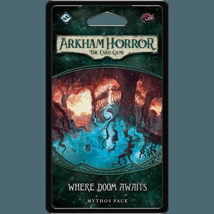 Where Doom Awaits Mythos Pack | Arkham Horror LCG