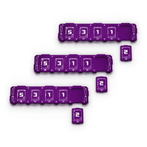 3x Purple Health Bar Bundle