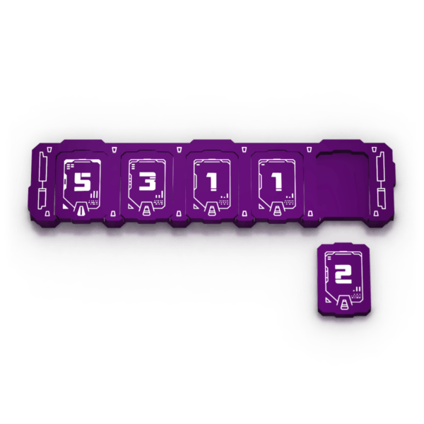 Transformers Health Bar - Purple