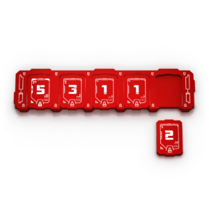 Transformers Health Bar - Red
