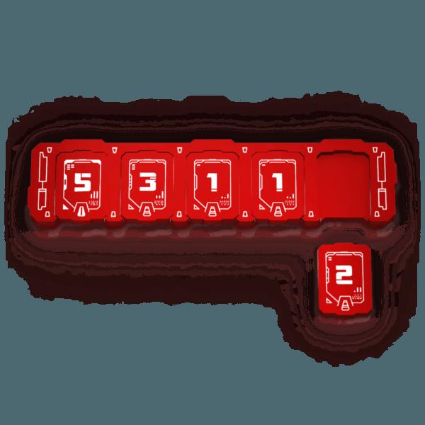 Transformers Health Bar - Red