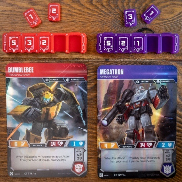 Transformers Health Bar - Combined Promo 1