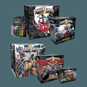 Power Rangers Heroes of the Grid Starter Bundle