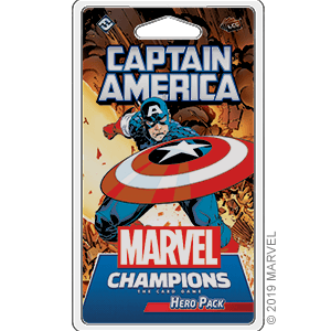 Captain America Hero Pack for Marvel Champions Card Game
