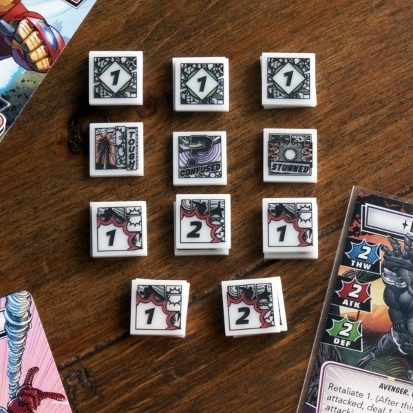 Full Hero Token Set - Compatible with Marvel Champions LCG