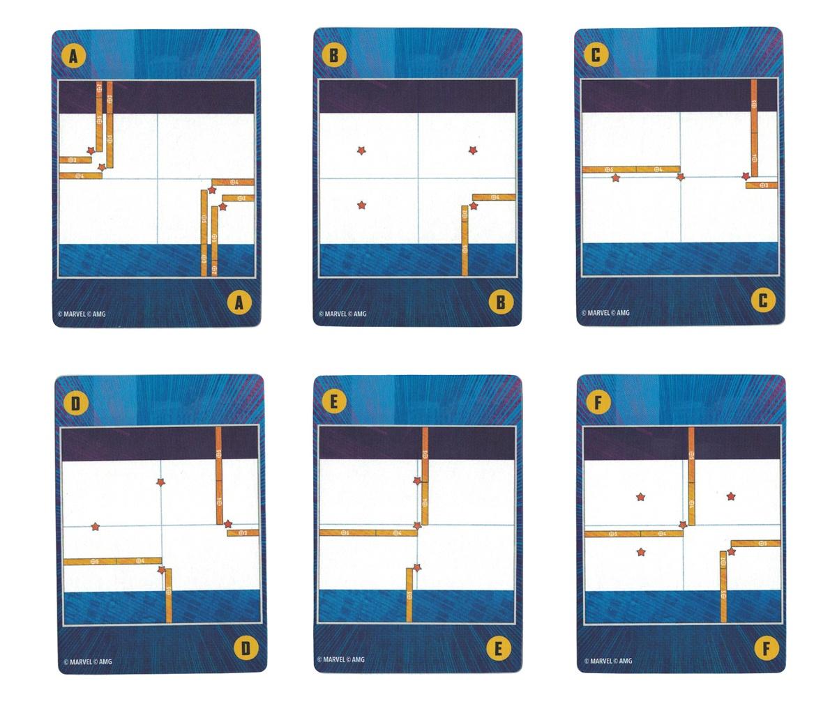 Deployment Terrain Cards Crisis Protocol Core Set