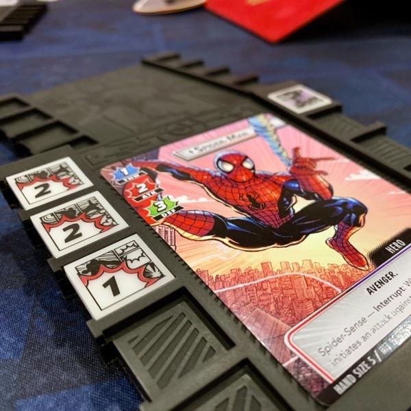 Spider-Man Extended Art Card   Marvel Champions Celebration Weekend