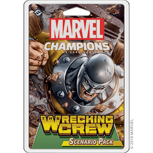 Wrecking Crew Scenario Pack for Marvel Champions Card Game