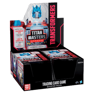 Titan Masters Attack Booster Box - Transformers TCG