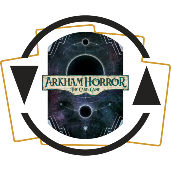 Logo for the Arkham Horror LCG Investigator Starter Deck subscription