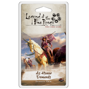 As Honor Demands Dynasty Pack for Legend of the Five Rings LCG