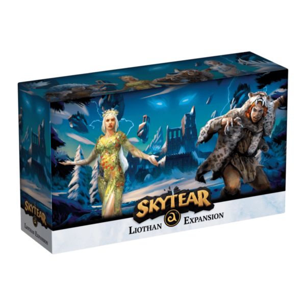 Skytear Liothan Expansion introducing Astryda, Freyhel, Brylvar, and Shyllavi.